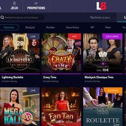 Lucky8 est le casino en ligne leader des jeux avec croupiers en direct